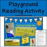 No Prep Playground Reading Activity