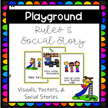 Playground & Recess Rules Posters & Procedures