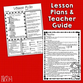 See Saw Orff-Based Lesson and Rhythm Composition