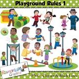 Playground Rules Clip art