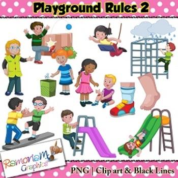 playground rules clip art by ramonam graphics teachers pay teachers