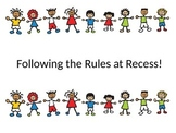 Playground Rules Social Story