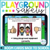 Playground Safety Boom Cards