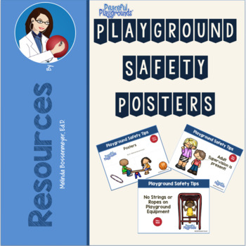 Playground Safety Tips Poster Set
