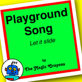 English ESL EFL Playground Song #1 Kindergarten, PreSchool