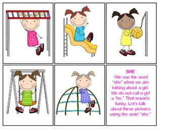 Playground Subjective Pronouns