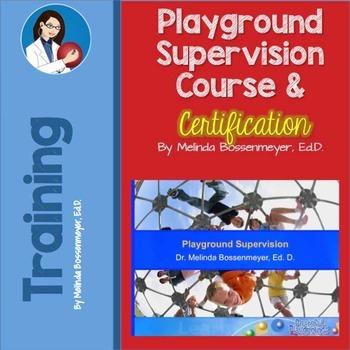 Playground Supervisor Training Course
