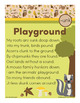 Playground - unk Word Family Poem of the Week