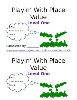 Playin' With Place Value: Level One