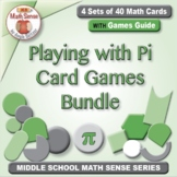 "Playing ""A Round"" with Pi: Math Cards for Circumference, P"
