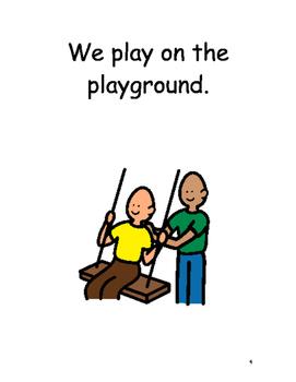 Playing At School Social Story