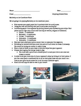 Playing Battleship on the Coordinate Plane