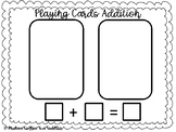 Playing Card Addition Center
