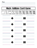 Playing Card Addition Game