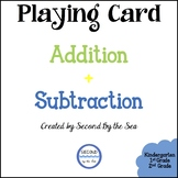 Playing Card Addition and Subtraction
