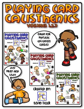 Playing Card Calisthenics Bundle (Volumes 1,2,3)