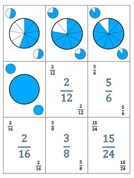 Playing Cards - Fractions, Decimals and Percents - L2