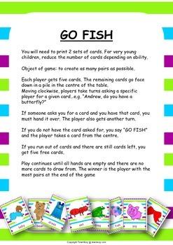 Playing Cards Preschool and Kindergarten