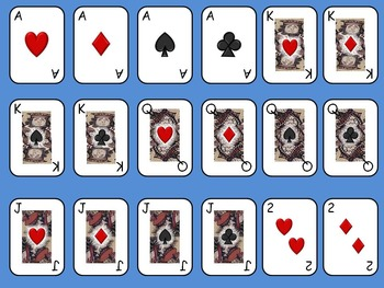 Playing Cards for your PowerPoints or whatever - YES YOU C