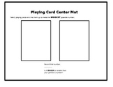 Playing Card Mats to Make the Biggest/Smallest Numbers
