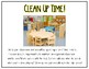 Playing & Clean Up {Social Story}