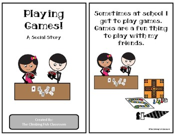 Playing Games: A Social Story