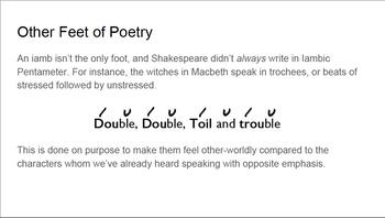 Playing Shakespeare Monologue Study Unit