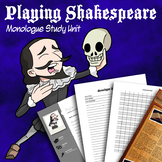 Playing Shakespeare Monologue Study Unit