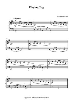Playing Tag - A Level 3 Piano Study
