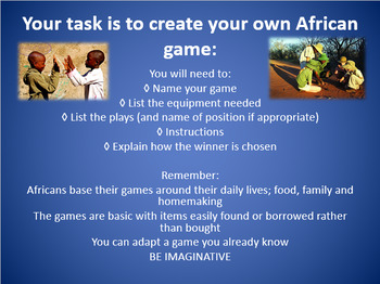 Playing The African Game