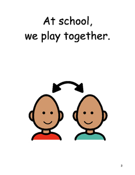 Playing Together Social Story
