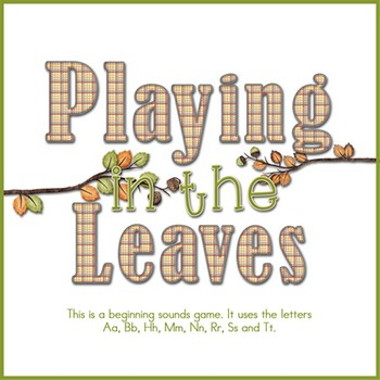 Playing in the Leaves - Beginning Sounds