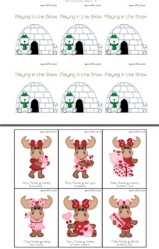 Playing in the Snow: Verb Tense