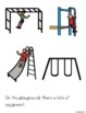 Playing on the Playground - Social Story (Boardmaker Symbols)