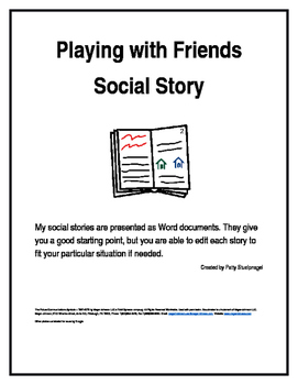 Playing with Friends, A Social Story