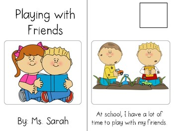 Playing with Friends_Adapted book