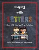 Playing with Letters - Dr. Jean Feldman, Carolyn Kisloski