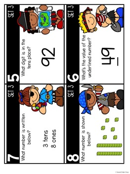 Place Value Pirates (Virginia SOL 2.1a)