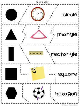 Playing with Plane Shapes-Circles, Triangles, Squares, Rectangles, and Hexagons