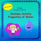 Properties of Water - Stations Thinking and Discovery Activity
