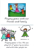 Playing with my Friends and Family Social Story