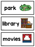 Nouns Pictures and Words