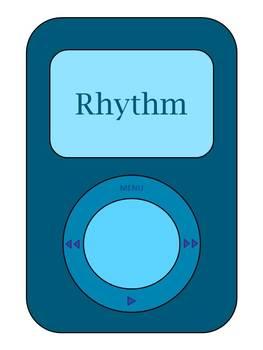 Playlist bulletin board mp3 for music classroom