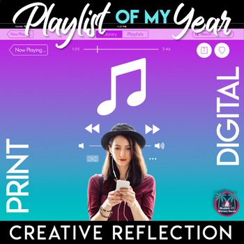 Playlist of My Year: An End-of-the-Year Writing Assignment for 6-12
