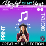 Playlist of My Year: An End-of-the-Year Writing Assignment Digital & Print