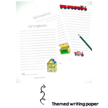 Playroom Writing Activity