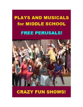 Plays and Musicals for Middle Schools