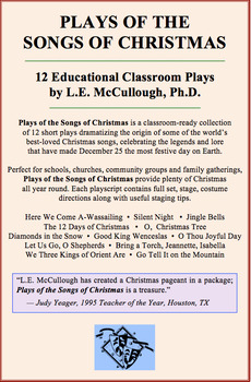 Short Christmas Play.Plays Of The Songs Of Christmas 12 Play Collection