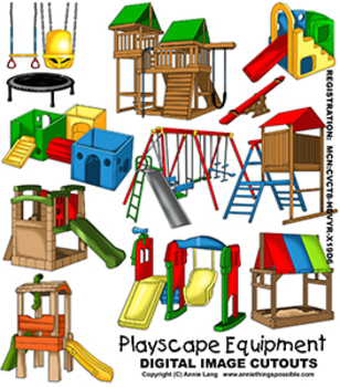Playscape Equipment Images Clipart