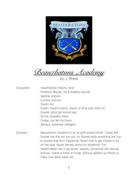 Playscript: Beauxbatons Academy